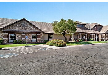 Peoria assisted living facility Brookdale Peoria