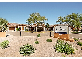 Tempe assisted living facility Brookdale Tempe
