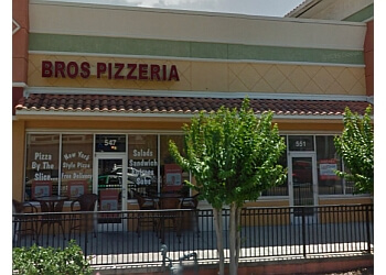 Clearwater pizza place Bros Pizzeria