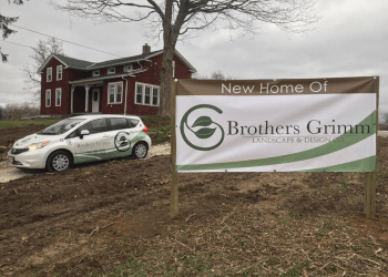 Akron landscaping company Brothers Grimm Landscape & Design Co