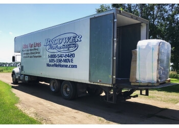 Sioux Falls moving company Brouwer Relocation Inc.