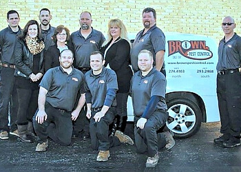 Dayton pest control company Brown Pest Control