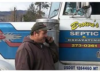 Wichita septic tank service Brown's Septic Service