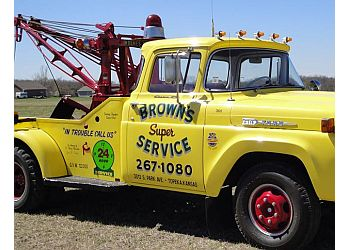 Topeka towing company Brown's Super Service Inc.