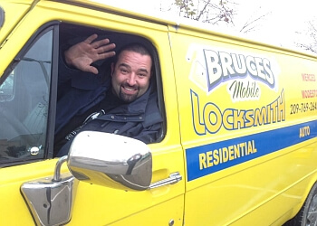 Modesto locksmith Bruces Mobile Locksmith