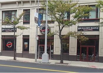 Boston bagel shop Bruegger's Bagels