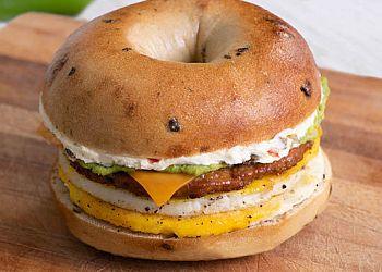 Durham bagel shop Bruegger's Bagels
