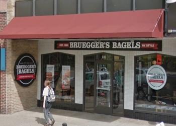 Lansing bagel shop Bruegger's Bagels