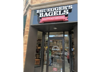 New Haven bagel shop Bruegger's Bagels