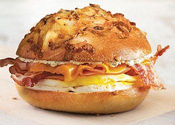 Santa Ana bagel shop Bruegger's Bagels