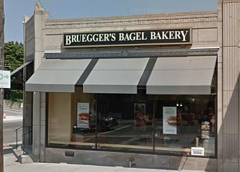 Cleveland bagel shop Bruegger's bagels
