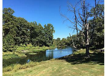 Richmond hiking trail Bryan Park