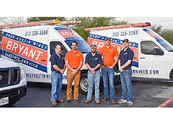 Austin electrician Bryant Electric Service