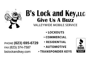 B's Lock and Key