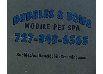 St Petersburg pet grooming BUBBLES & BOWS MOBILE PET SPA