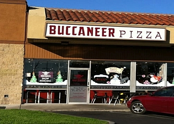 Santa Ana pizza place Buccaneer Pizza