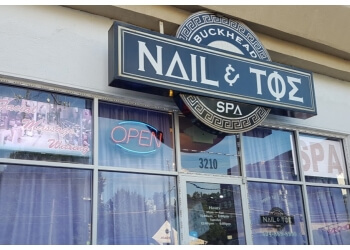 Atlanta nail salon Buckhead Nail and Toe Spa