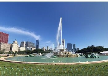 Chicago landmark Buckingham Fountain