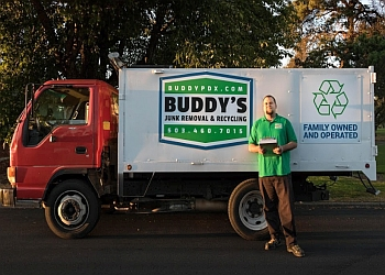 Portland junk removal Buddy's Junk Removal and Recyling
