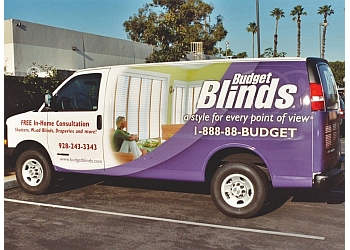 Chula Vista window treatment store Budget Blinds