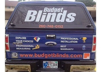 Fort Wayne window treatment store Budget Blinds