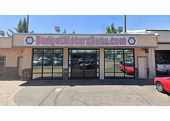 Reno used car dealer Budget Motors