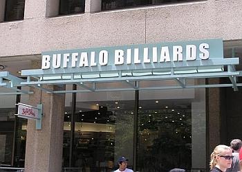Washington sports bar Buffalo Billiards