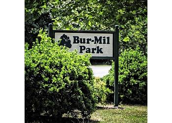 Greensboro hiking trail Bur-Mil Park Trail