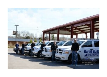 Chattanooga roofing contractor Burell Built Exteriors & Roofing Company, LLC