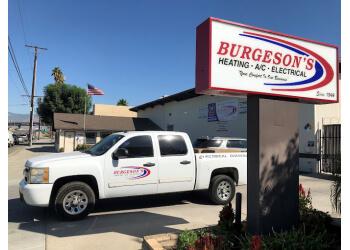 San Bernardino hvac service Burgeson's Heating, A/C & Electrical