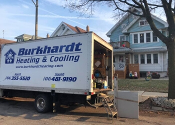 Milwaukee hvac service Burkhardt Heating & Air Conditioning