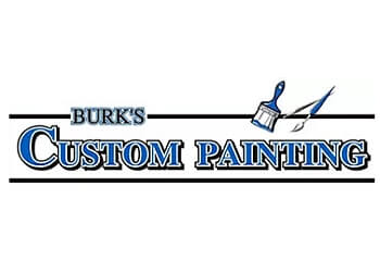 Orange painter Burk's Custom Painting