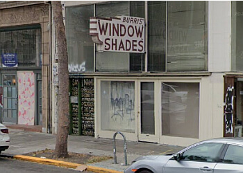 Oakland window treatment store Burris Window Shades