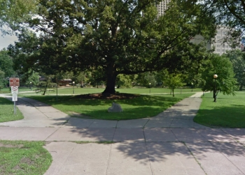 Hartford public park Bushnell Park