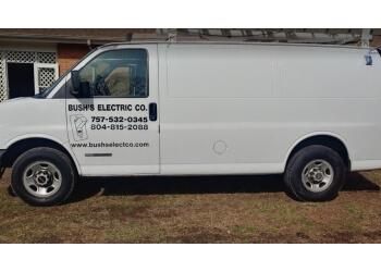 Newport News electrician Bush's Electrical Co.
