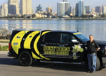 San Diego locksmith Busy Bees Locks & Keys INC.