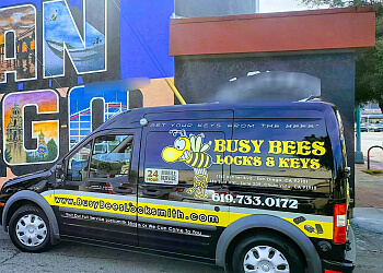 Chula Vista locksmith Busy Bees Locks & Keys Inc.