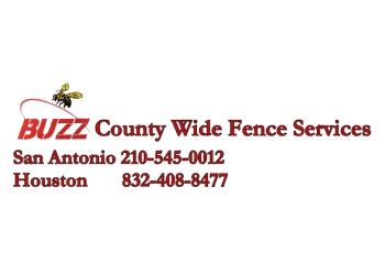 San Antonio fencing contractor Buzz County Wide Fence