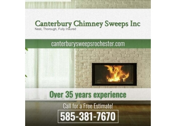 Rochester chimney sweep CANTERBURY CHIMNEY SWEEPS INC