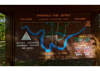 Springfield hiking trail CARPENTER PARK