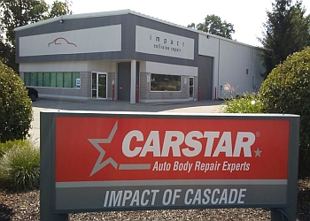 Grand Rapids auto body shop CARSTAR Impact of Cascade