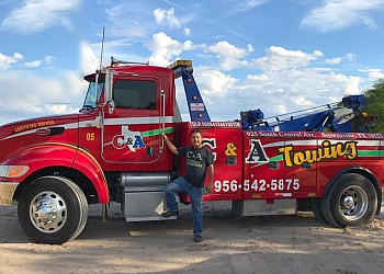 Brownsville towing company C & A Towing Service