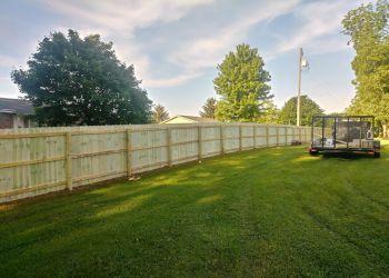 Cincinnati fencing contractor CBS Fence Company
