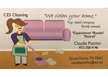 Grand Prairie house cleaning service CES Cleaning Services