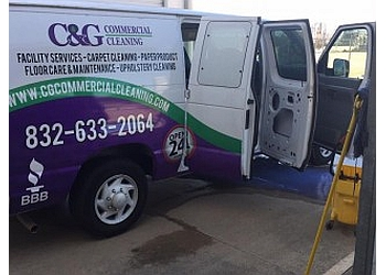 Houston commercial cleaning service C&G Commercial Cleaning, LLC