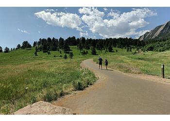 Boulder hiking trail CHAUTAUQUA PARK TRAIL