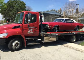 Chicago towing company CHICAGO 24 HOUR TOWING