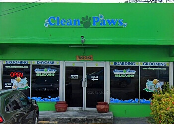 Hollywood pet grooming CLEAN PAWS PET SALON & RESORT