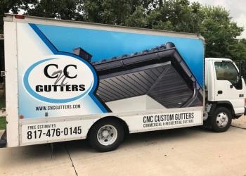 Fort Worth gutter cleaner CNC Gutters