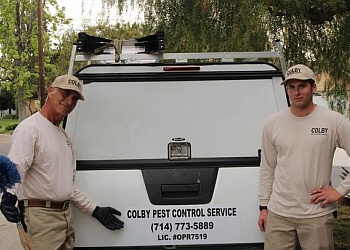 Fullerton pest control company Colby Pest Control Service